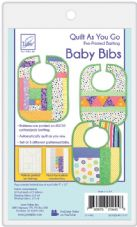 JT1445 Quilt as you go - Baby bib batting